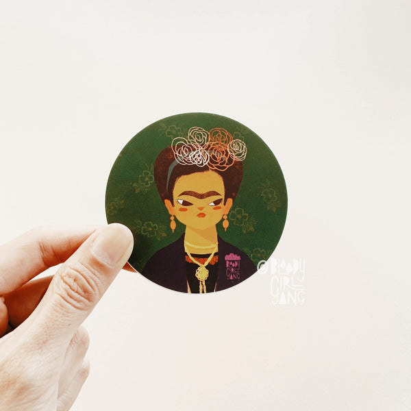 Frida Kahlo - BGG Womxn Artist Series Sticker