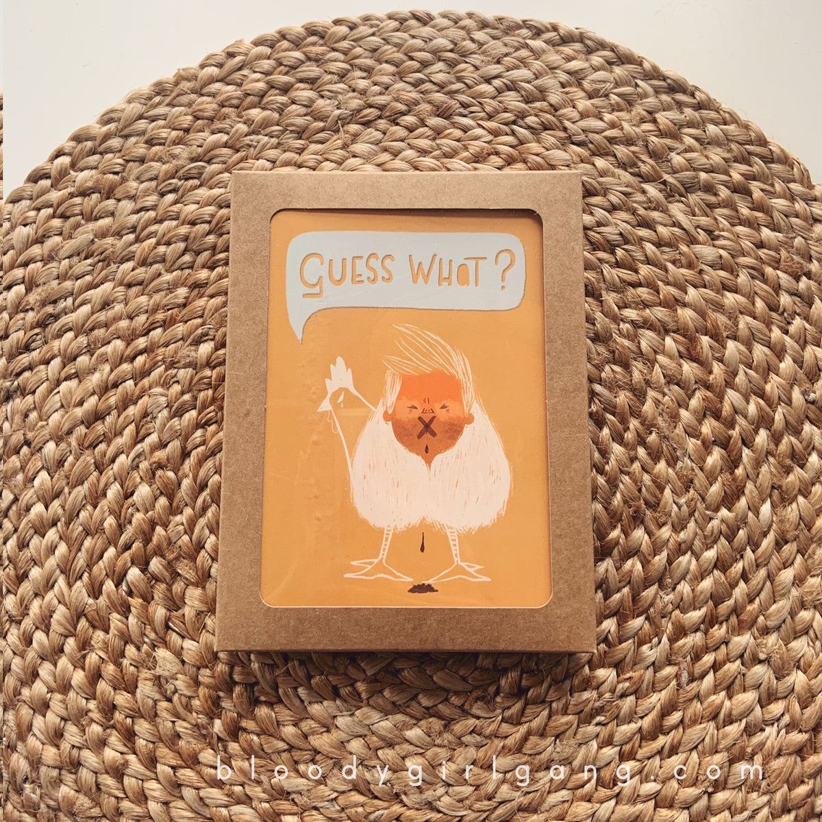 Guess What? Greeting Card