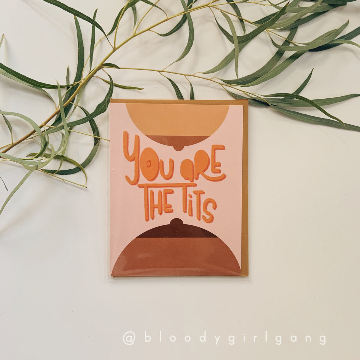 You Are The Tits Greeting Card