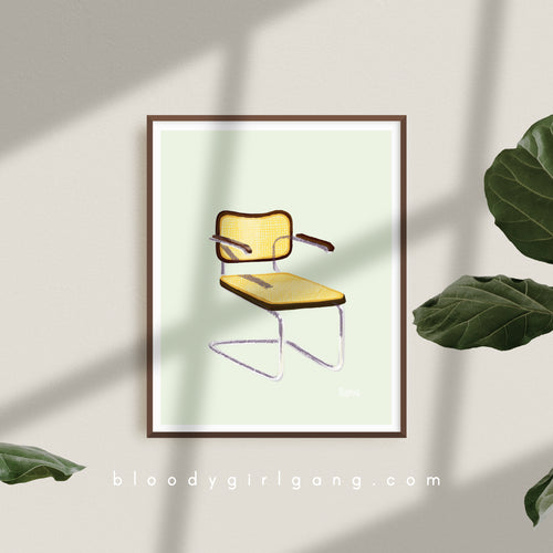 Cesca Chair Art Print