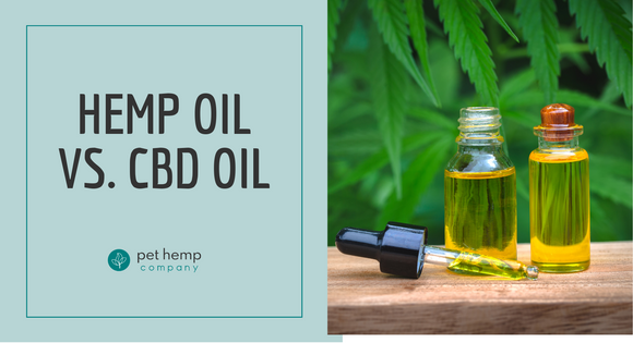 Hemp Oil vs. CBD Oil
