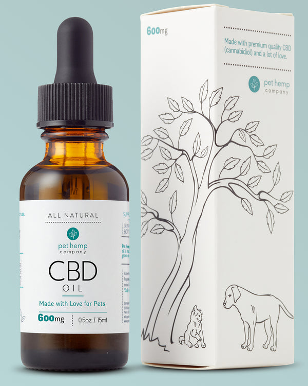 Pet Hemp Company Bundle & Save: 3 Large CBD Pet Tinctures (3 x 600mg)