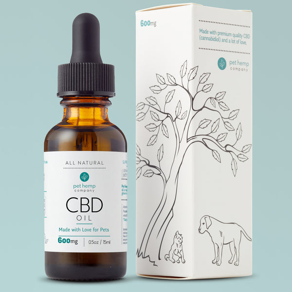 CBD Oil Tinctures for Dogs & Cats