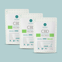 Bundle & Save: 3 CBD Dog Treats + RELAX Stress Relief
