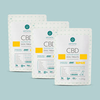 Bundle & Save: 3 CBD Dog Treats + REPAIR Joint Support