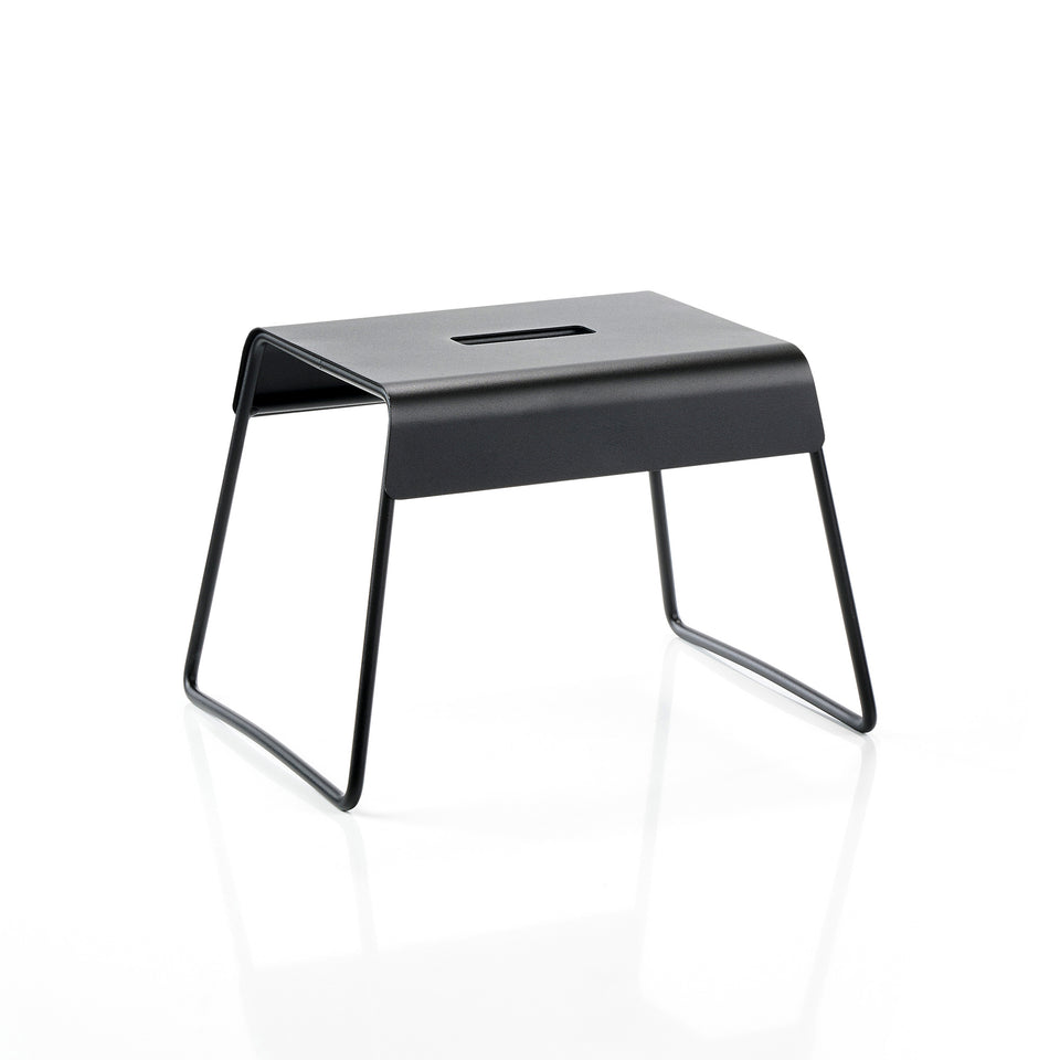 Zone Hocker A-Stool, Schwarz, B39 x T30 x H27,5 cm