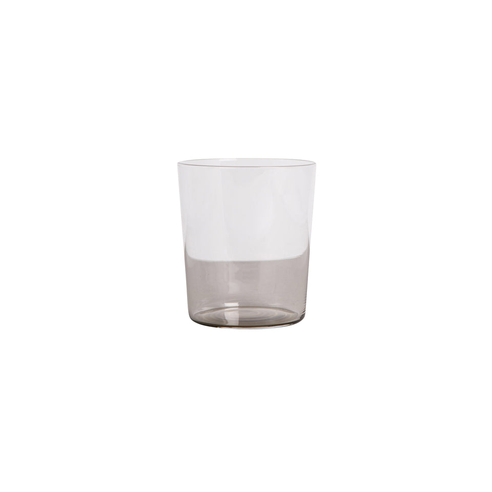 By On Wasserglas/Trinkglas Djungle (2er Set), Glas, Klar/Grau, , Grau, Ø10 x H9 cm