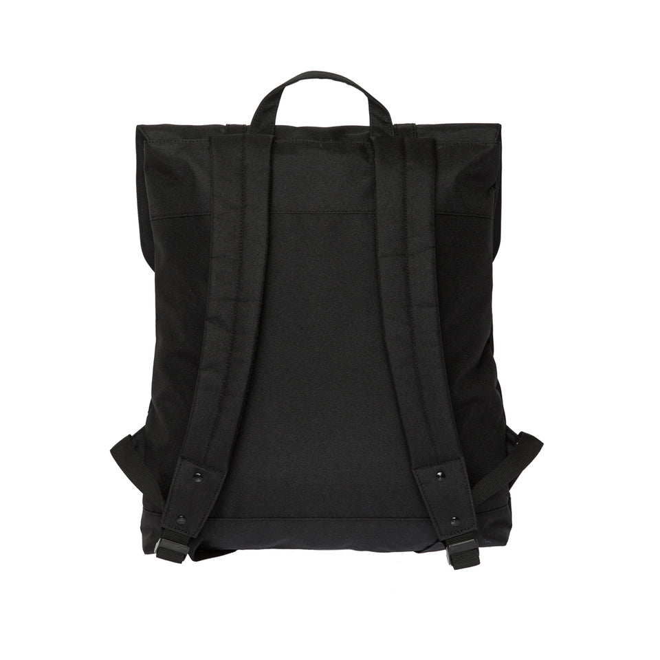 "Enter Rucksack City Backpack, Schwarz, 100% recyceltes Polyester, B42xH37xT8 cm, 15"" Laptop"