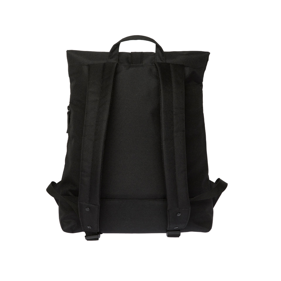 Enter Rucksack City Top Fold Backpack, Schwarz/Black, 100% Polyester, B34xH41xT12 cm