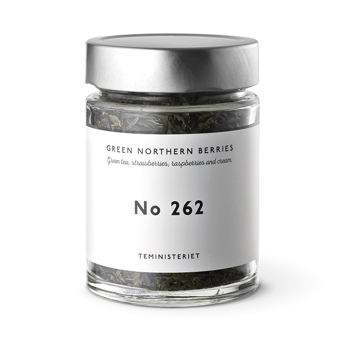 TEMINISTERIET Tee No. 262 Green Northern Berries