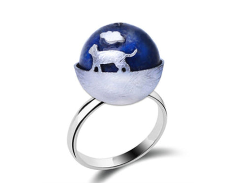 dreaming cat ring