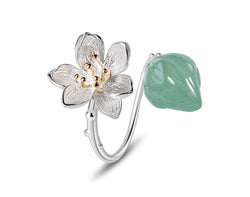 Lotus Whispers II Ring - Lotus Fun
