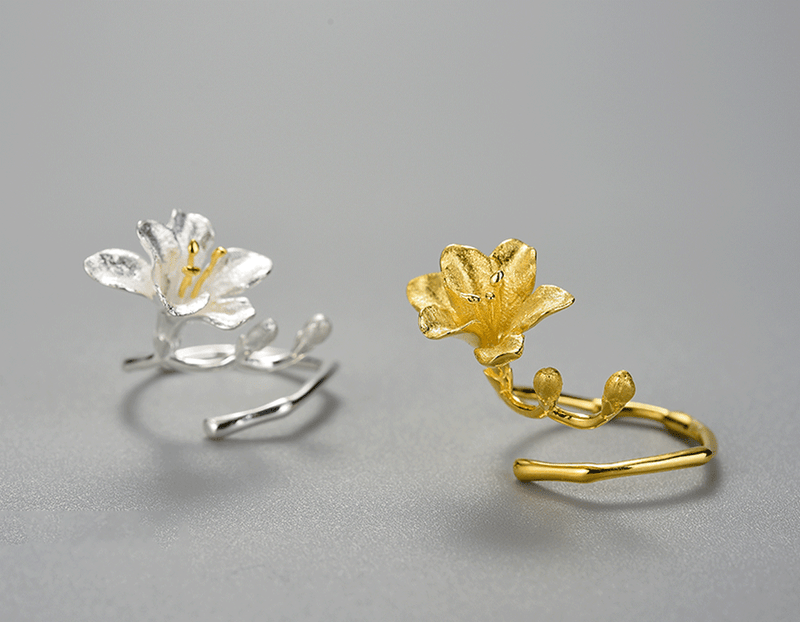 Freesia Flower Ring