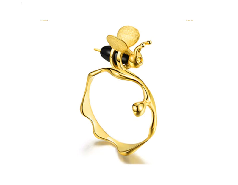 Dripping Honey & Bee Ring II