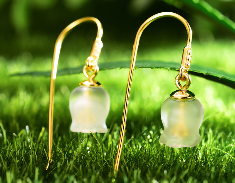 Bell Orchid Earring