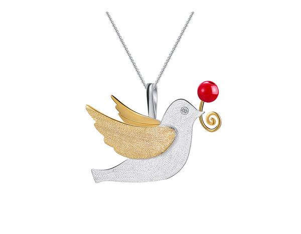 Flying Pigeon Pendant