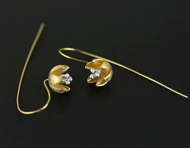 Fresh Blooming Flower Earring