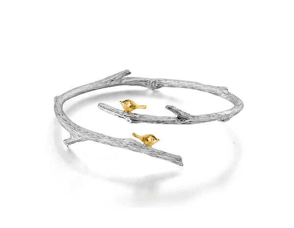 Birds on Branch Bangle - Lotus Fun