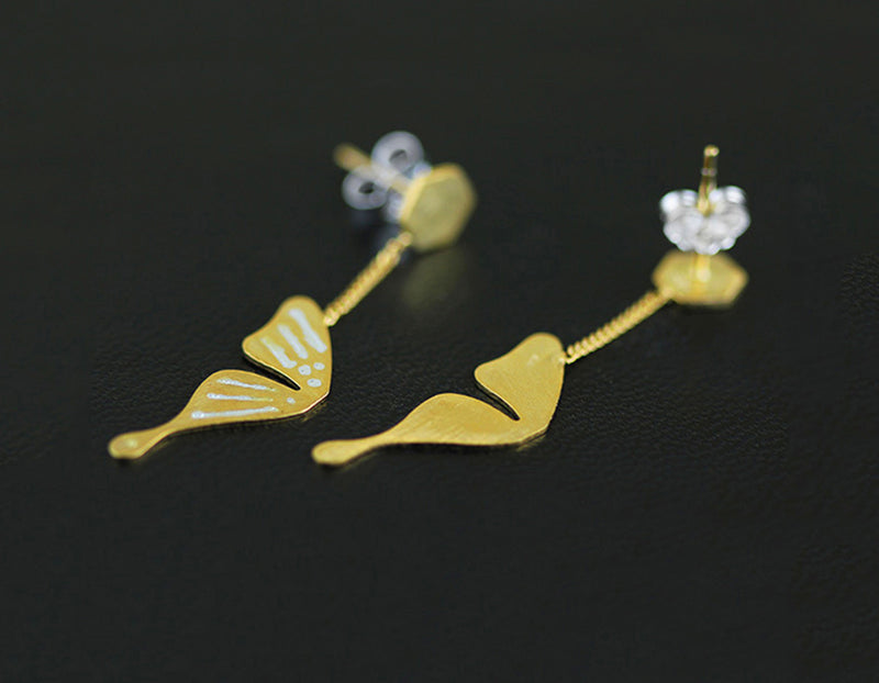 Butterfly Wings Earring