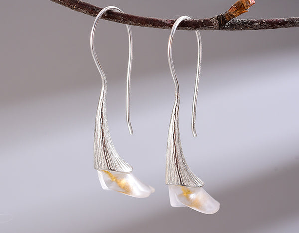 Calla lily Earring