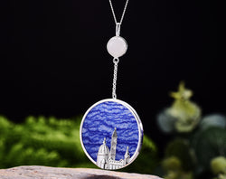 Cathedral of Saint Mary of the Flower Pendant - Lotus Fun
