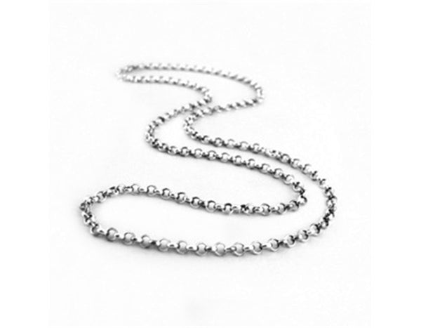 Cable Chain Necklace (51CM) - Lotus Fun