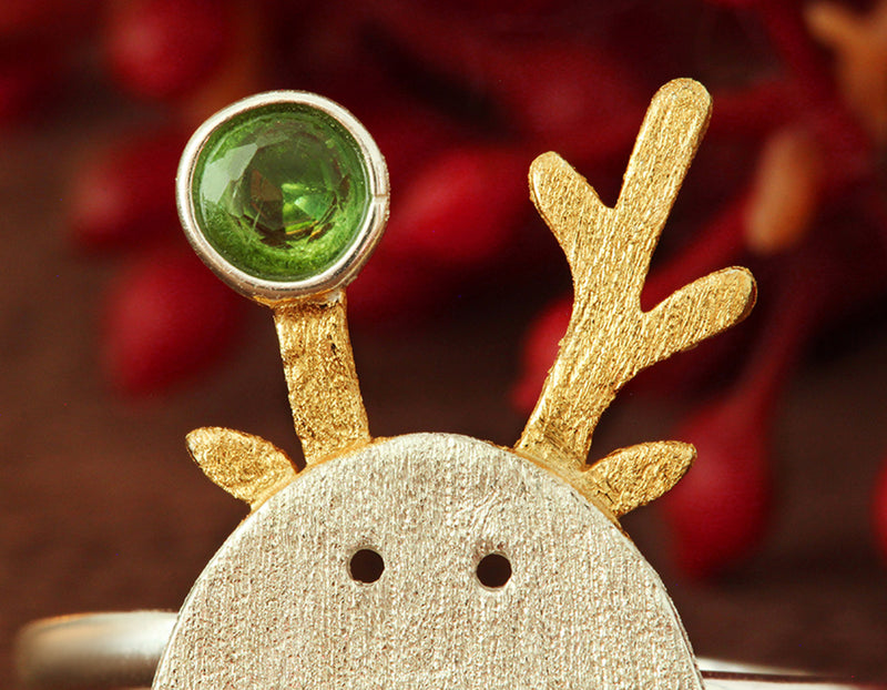 Christmas Reindeer Ring - Lotus Fun