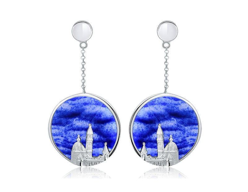 Cathedral of Saint Mary of the Flower Earring