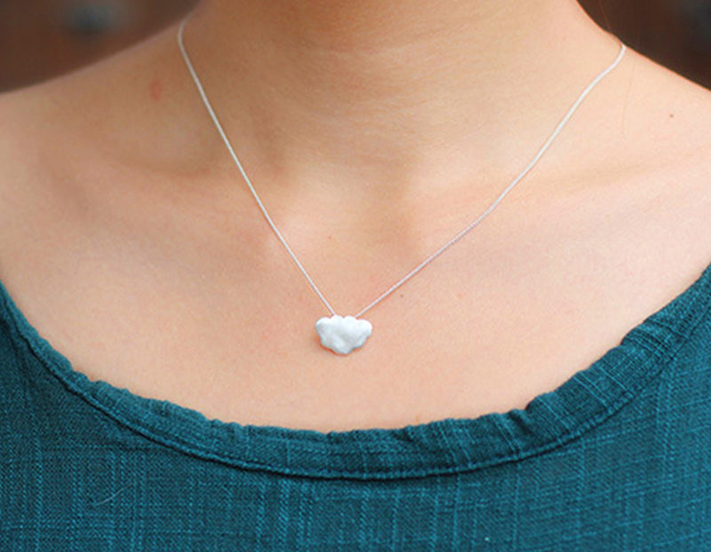 Frosted Cloud Pendant