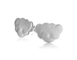 Frosted Cloud Earring