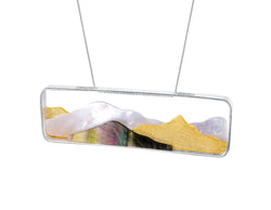 Sparkly Mountain Pendant