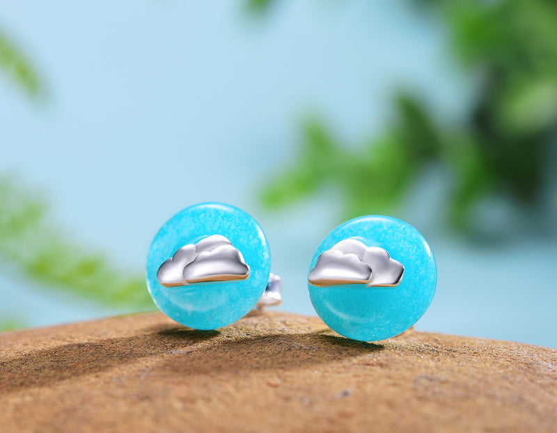 Cloud Stud Earring