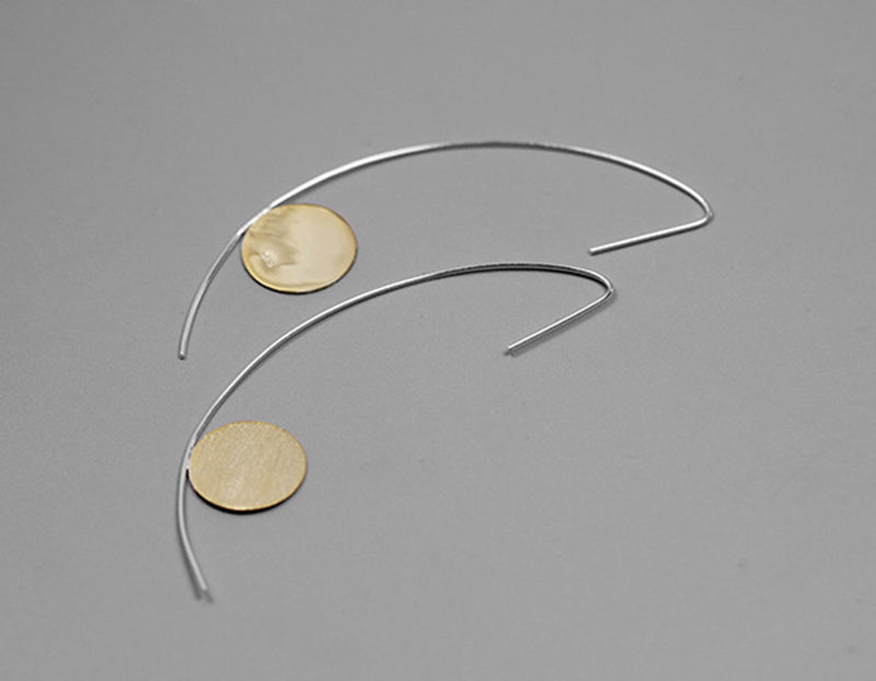 Crescent Drop Earring