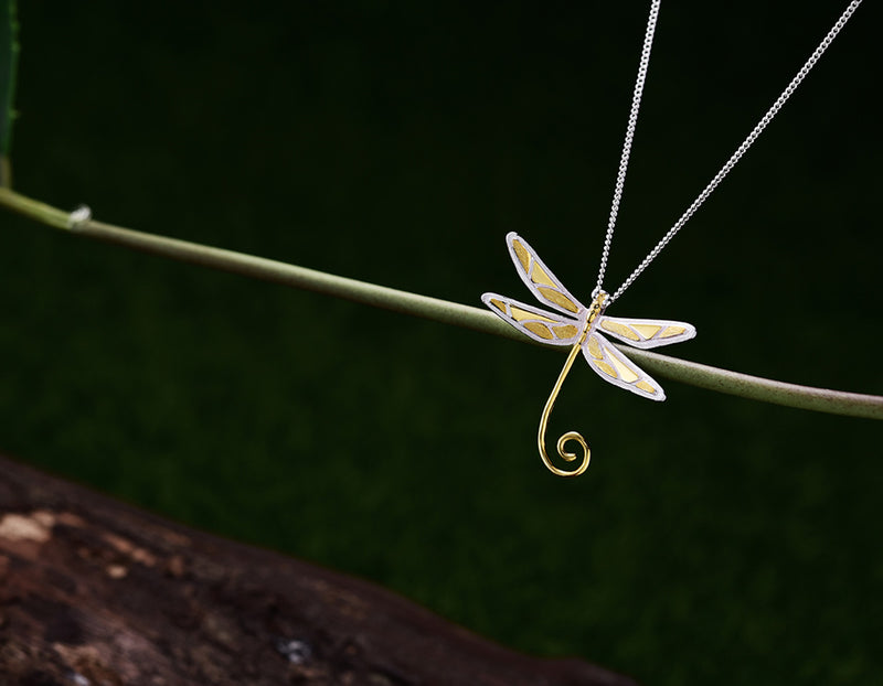 Cute Dragonfly Pendant