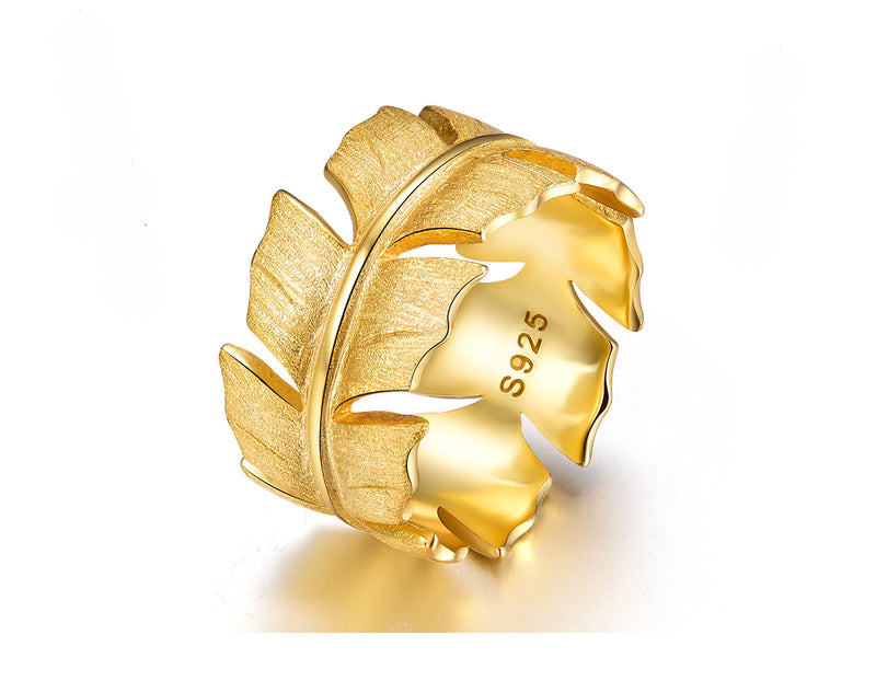 Classic Feather Ring