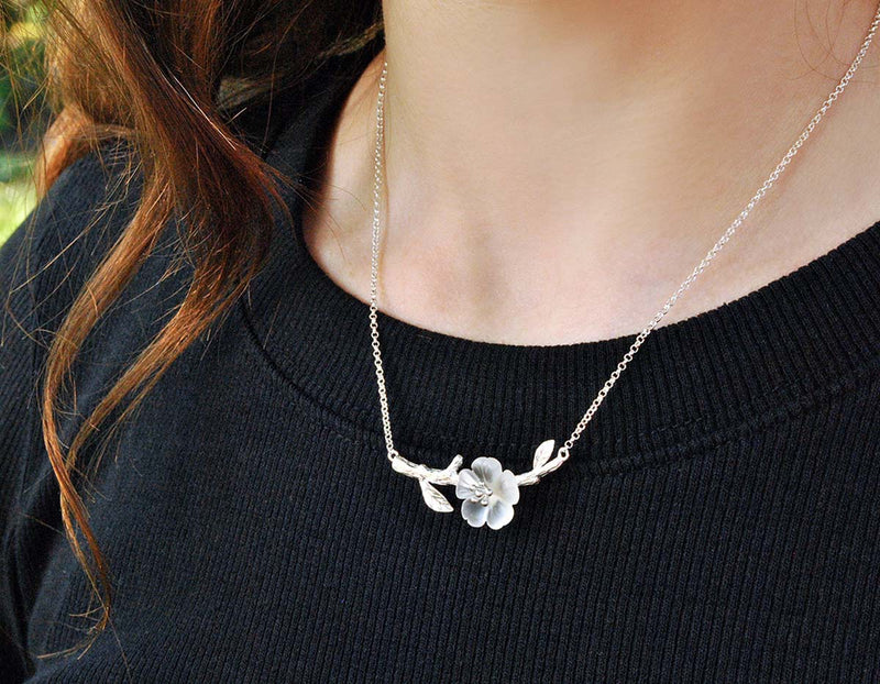 Flower in the Rain II Necklace - Lotus Fun