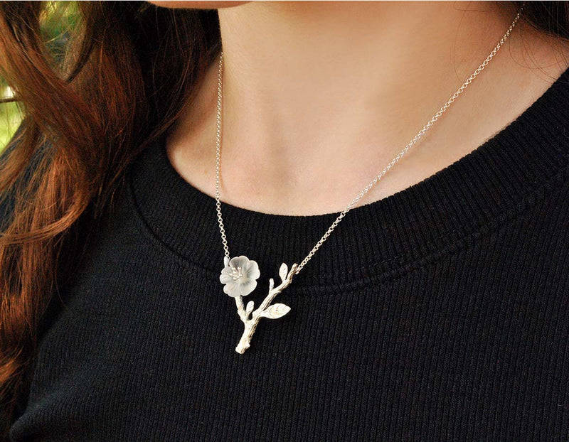 Flower in the Rain Necklace - Lotus Fun