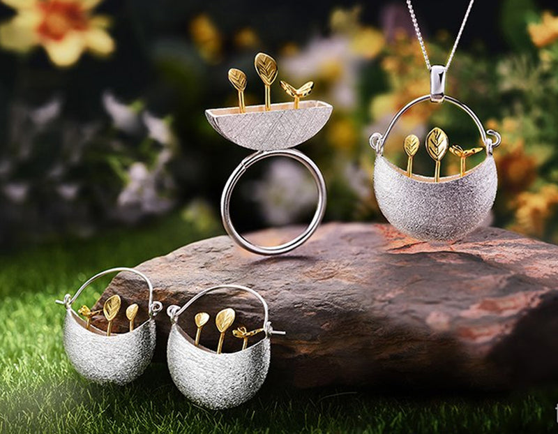 My little Garden Jewelry Set - Lotus Fun