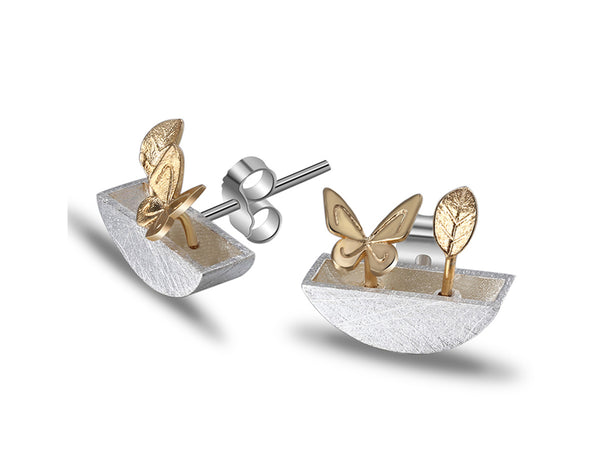 My Little Garden Earring Stud - Lotus Fun
