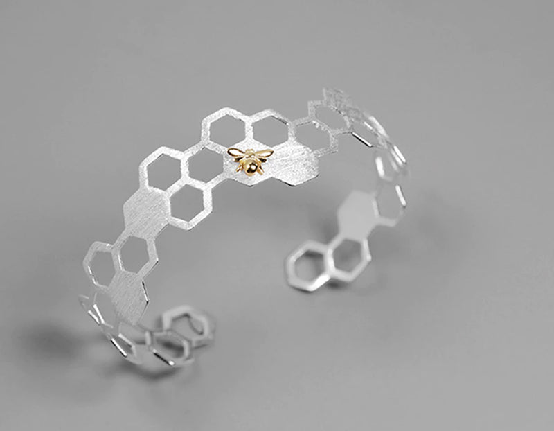 Honeycomb Bangle - Lotus Fun