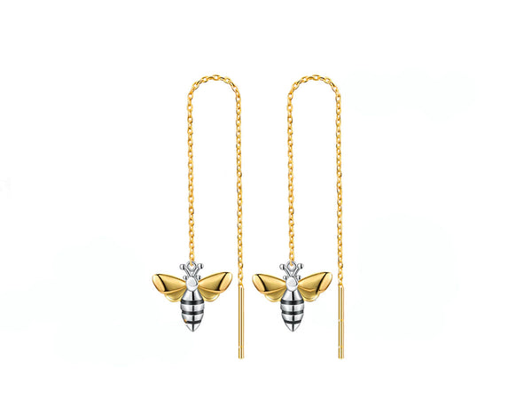 Honeybee Dangle Earring