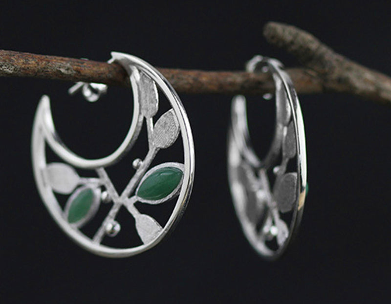 Spring in the Air Leaves Earring