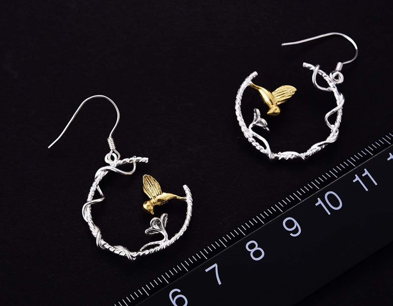 Hummingbird Earring - Lotus Fun