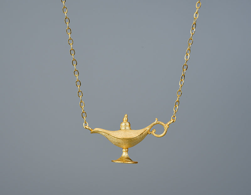 Aladdin's Lamp Necklace