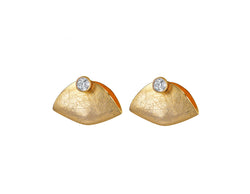 Autumn Leaf Stud Earring