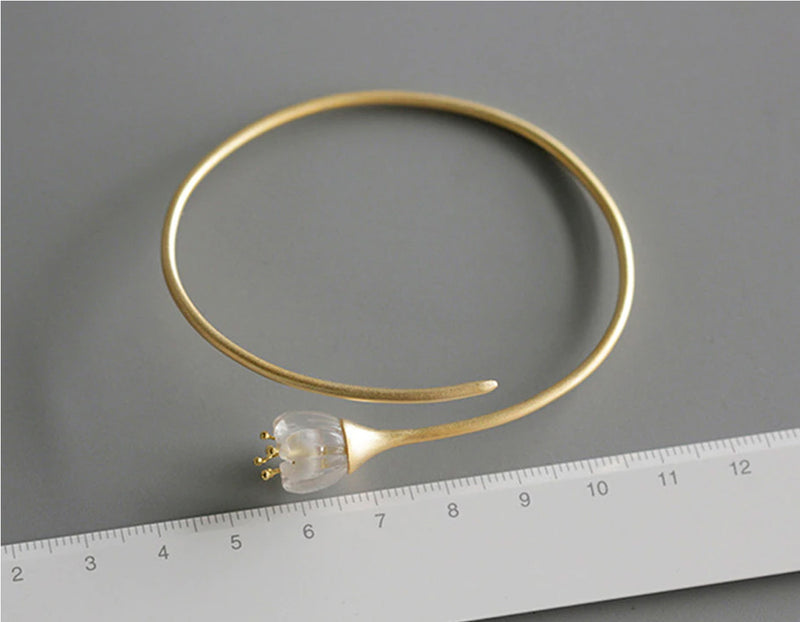 Lily of the Valley Bangle - Lotus Fun