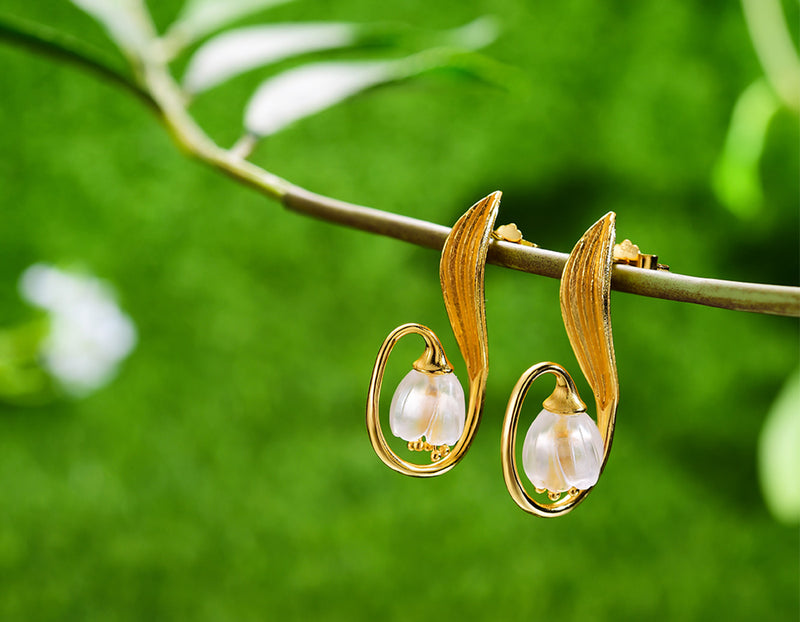 Lily of the Valley Earring - Lotus Fun