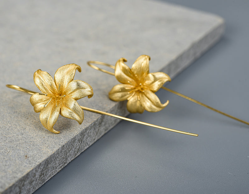 Lily Flower Earring