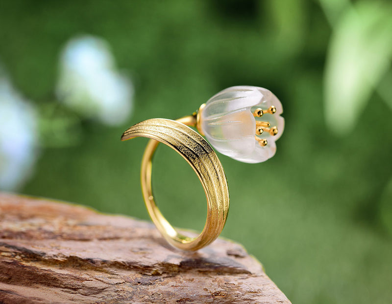 Lily of the Valley Ring - Lotus Fun