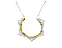 Lotus Flower Minimalist Necklace